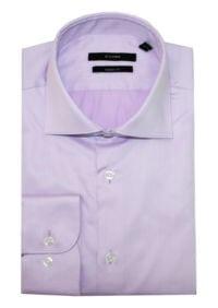 Di Caprio poslovna lila muška košulja s dugim rukavima | Regular fit