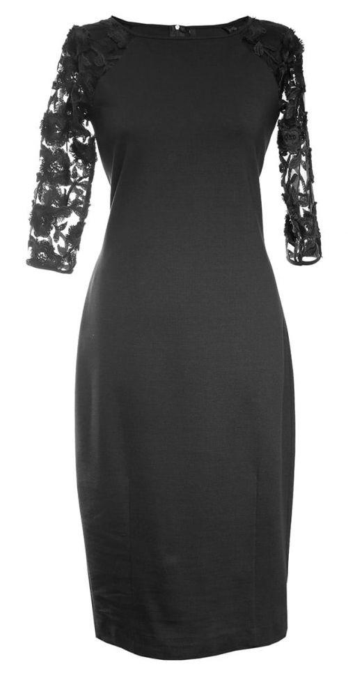 Di Caprio plava haljina s čipkom | Varteks