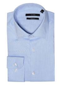 Di Caprio poslovna muška košulja od Royal Oxford pamuka | Regular fit