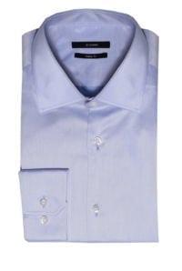 Di Caprio svjetlo plava muška košulja s dugim rukavima | Slim fit