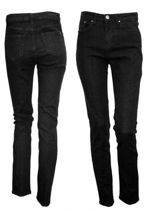 Di Caprio Push-up crne jeans ženske hlače | Varteks