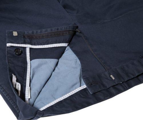 Plave pamučne muške hlače - Comfort fit
