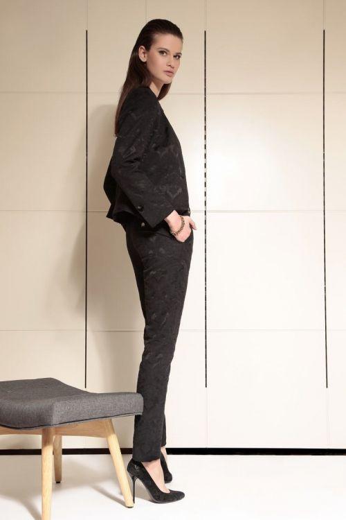 Di Caprio crne brokatne ženske hlače   Varteks