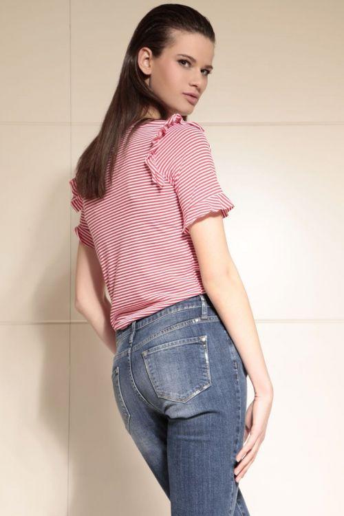 Di Caprio Straight jeans ženske hlače - ravni kroj | Varteks