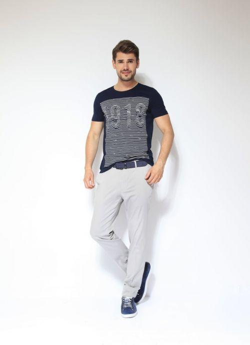 Di Caprio pamučna muška majica s printom   Varteks