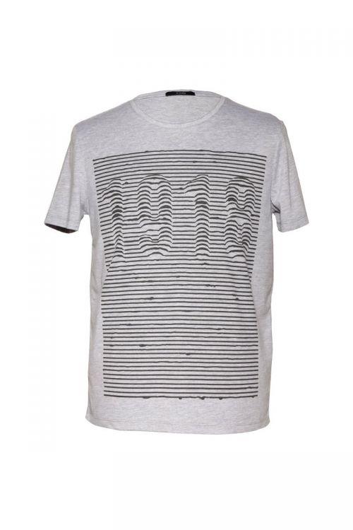 Di Caprio pamučna muška majica s printom | Varteks