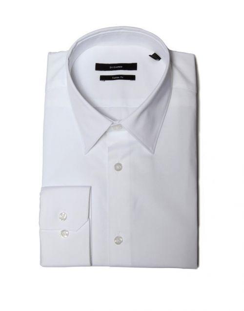 Di Caprio bijela muška košulja s dugim rukavima | Slim fit