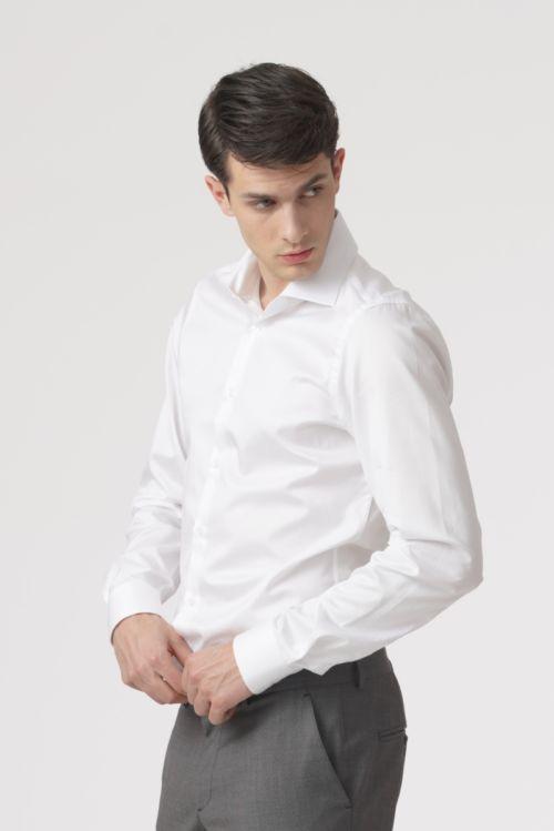 Muška košulja s produženim rukavima - Slim fit