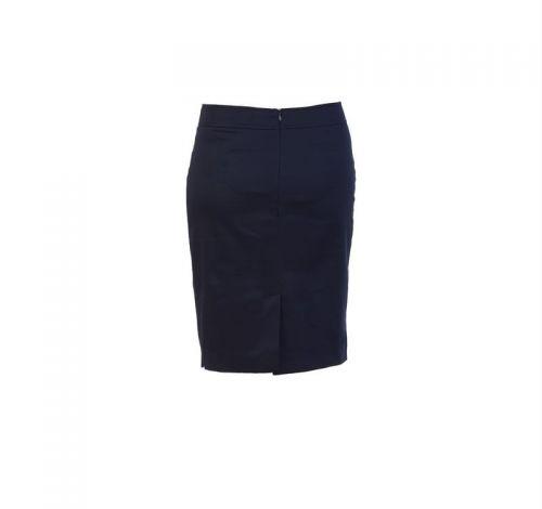 Di Caprio jednobojna pamučna suknja s rasporkom | Varteks