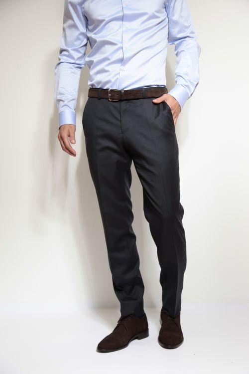 Muške hlače 100% runska vuna - Business fit regular
