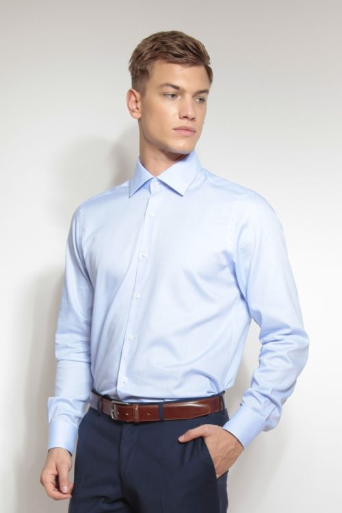 Muška košulja od Royal Oxford pamuka - Regular fit