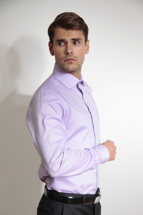 Slim fit muška košulja dugih rukava od Royal Oxford pamuka