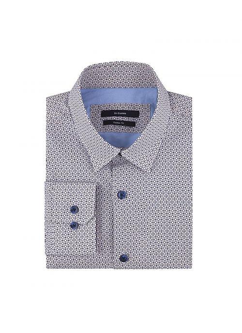 Bež-plava muška košulja s dezenom | Varteks