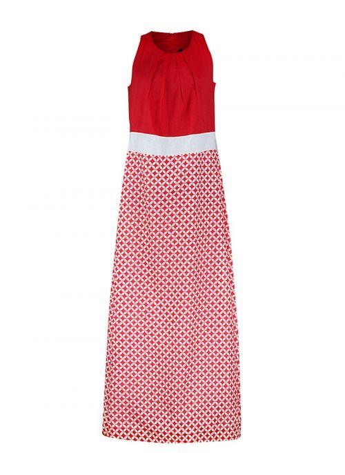 Crveno-bijela haljina | Varteks