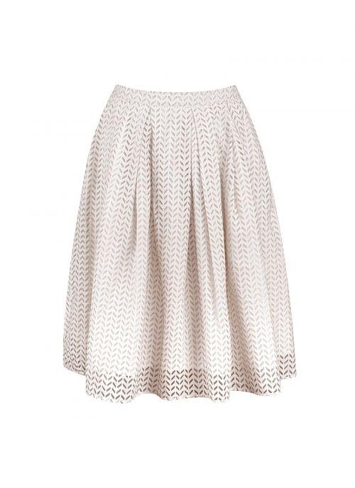 Bež suknja s uzorkom | Varteks