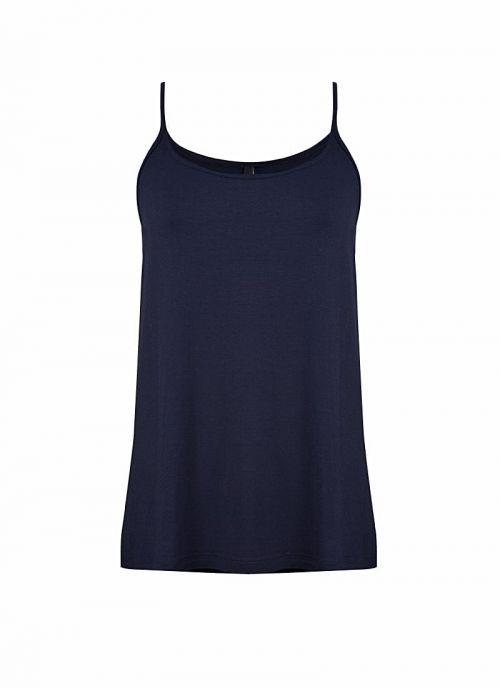 Tamno plavi ženski top na bretele | Varteks