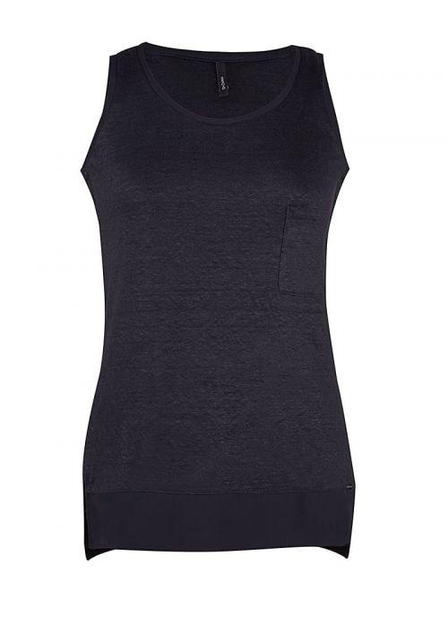 Prozračna crna ženska bluza | Varteks