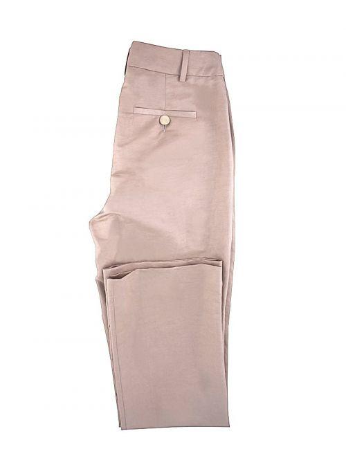 Ženske hlače boje pudera