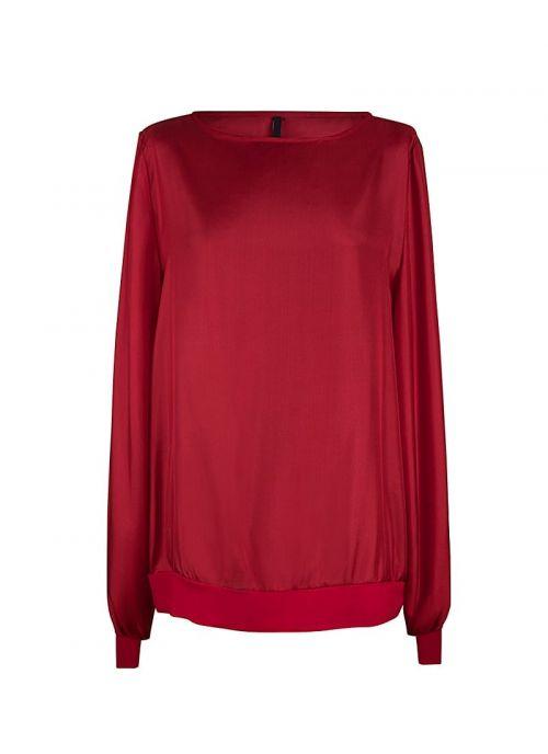Svilena crvena ženska bluza | Varteks