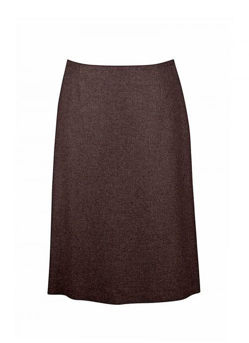 Smeđa ženska suknja | Varteks