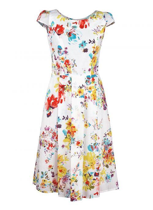 Bijela haljina cvjetnog uzorka | Varteks