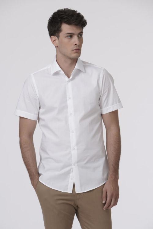 Muška košulja s kratkim rukavima - Fashion fit slim