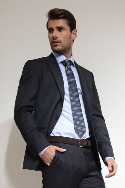 Muško odijelo Super 100`s u dvije boje - Regular fit