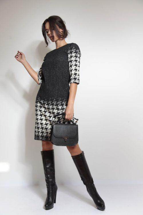 Crno-bijela haljina Varteks