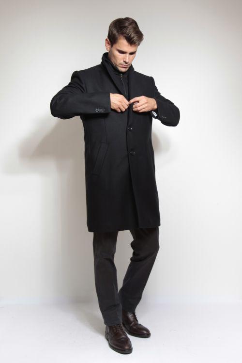 Muški kaput s umetkom