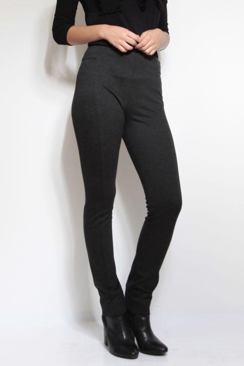 Sive ženske hlače jahaći stil