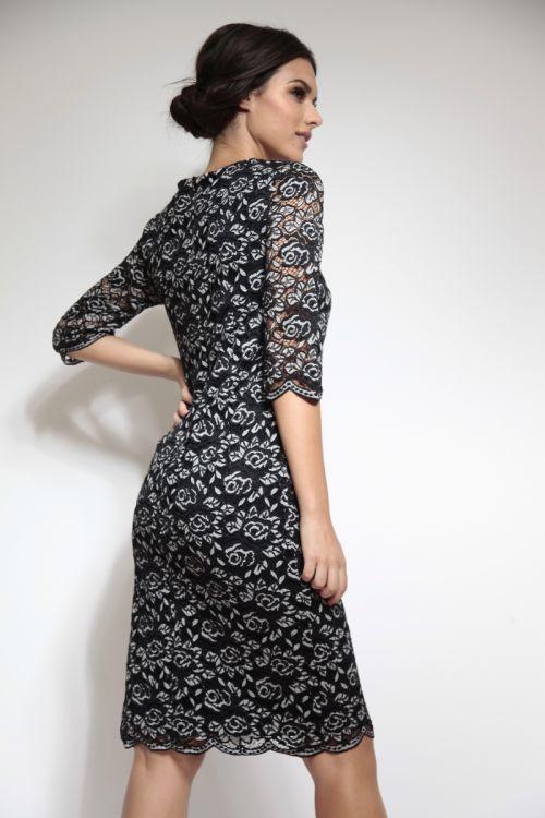 Romantična čipkasta haljina