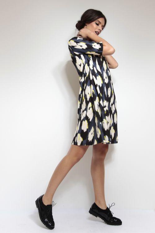 Ležerna haljina - tunika s printom