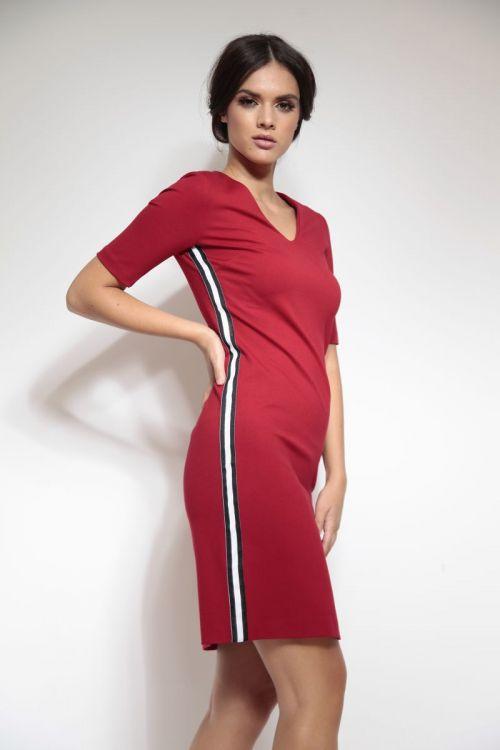 Ležerna ženska haljina u dvije boje
