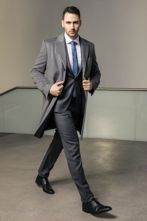 Limited Edition - Muško odijelo Super 130's Prince De Galles uzorak