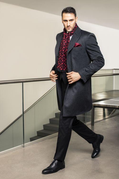 Limited Edition - muški kaput 100% kašmir
