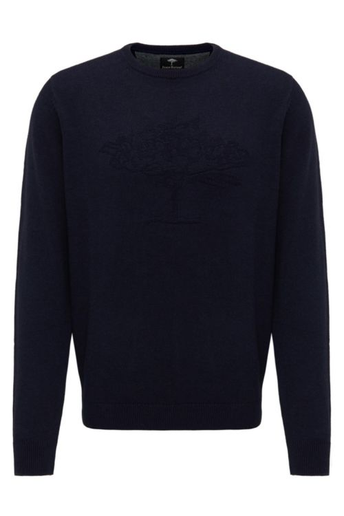 Muški pulover s decentnom slikom