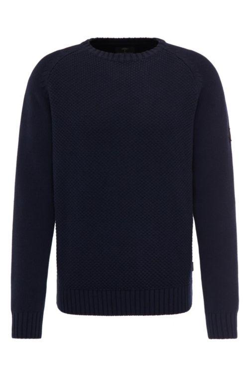 Tamno plavi muški pulover