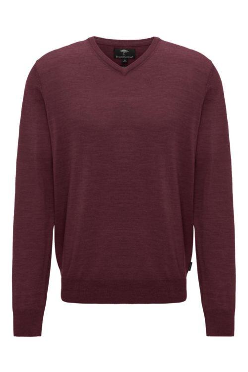 Vuneni muški pulover s V izrezom