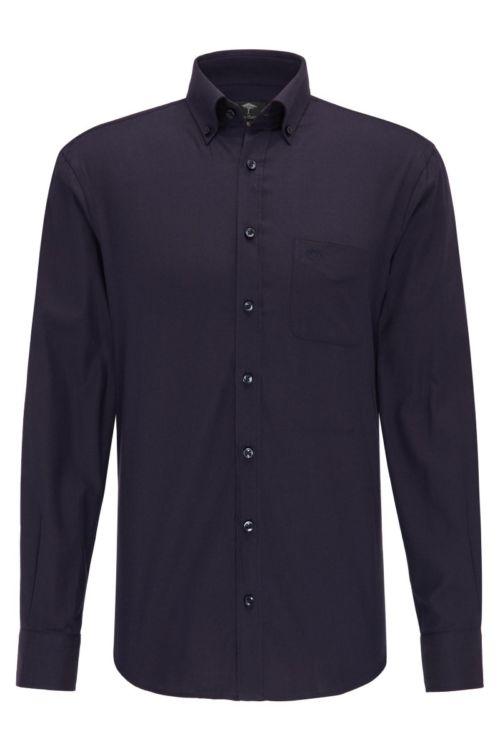 Klasična tamno plava muška košulja dugih rukava