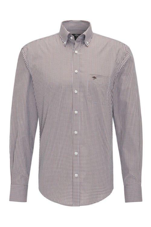 Muška košulja s decentnim kariranim uzorkom