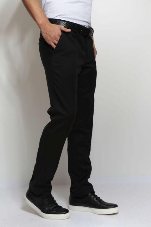 Crne muške hlače - Slim fit