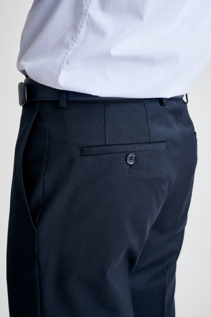 Varteks Men's trousers with a share of rune wool in two colors