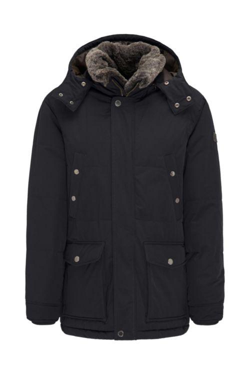 Muška zimska jakna s kapuljačom u dvije boje Fynch-Hatton