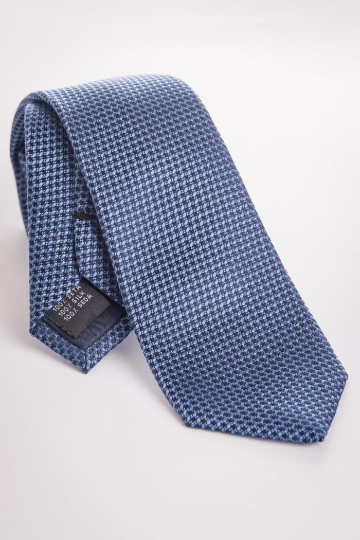 Muška kravata u dvije boje sa strukturom