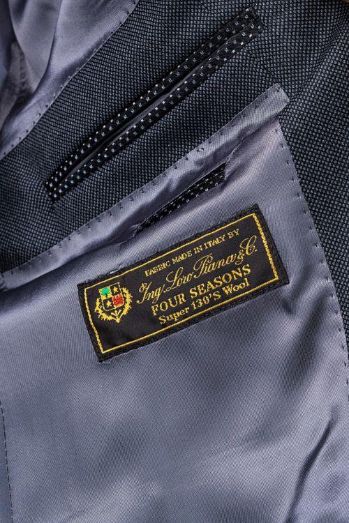 Limited Edition – Muško sivo odijelo Super 130's Four seasons