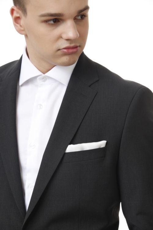 YOUNG sivo muško odijelo - Regular fit