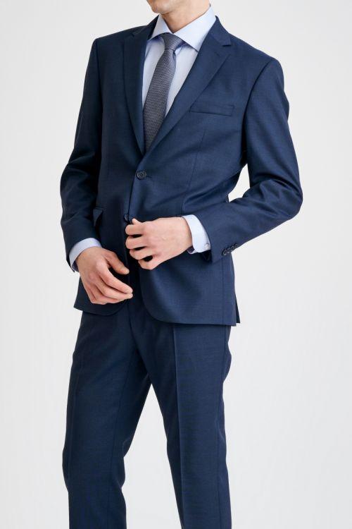 Tamno plavo elegantno muško odijelo - Regular fit