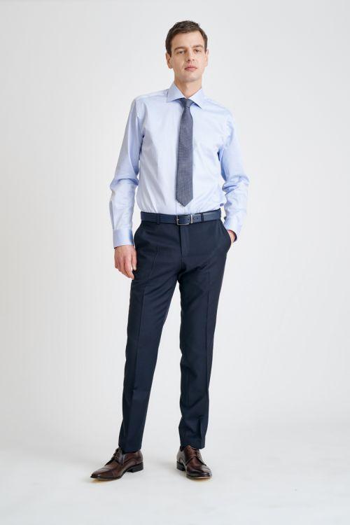 Klasične muške hlače u dvije boje - Regular fit - Super 120's