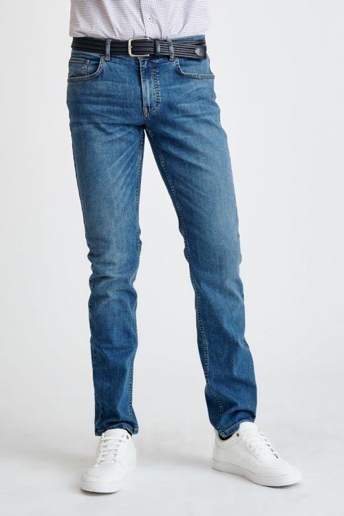 Plave pamučne muške jeans hlače