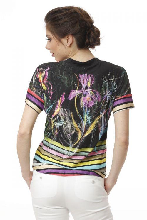Razigrana ležerna ženska majica